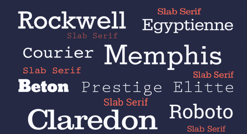Most Popular Fonts Used